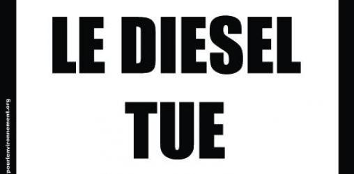 Le diesel tue