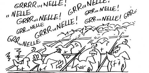 Dessin Agir n°62 - Décret azote : Vive le grouinelle...!
