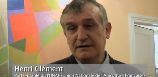 Hervé Clément, président de l'Union Nationale de l'Apiculture Française
