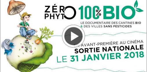 Sortie du film zéro phyto, 100% bio