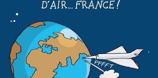 Le gouvernement ne manque pas d'Air... France !