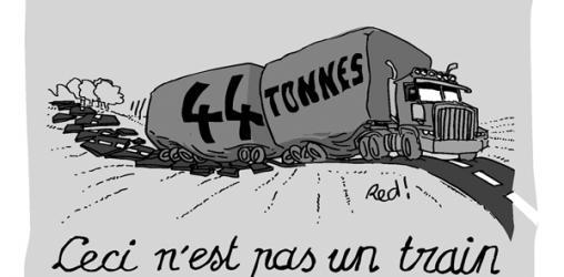 44 tonnes : Les gros lourds bientôt sur nos routes ?