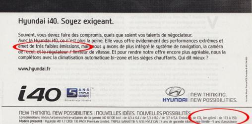Hyundai... une voiture plus verte que vert !