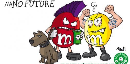 #Nanos - M&M's, Skittles : Mars attacks, Agir pour l'environnement lui répond !