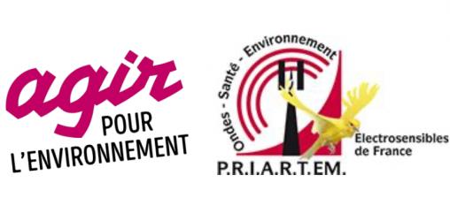 Logo Agir pour l'Environnement et PRIARTEM