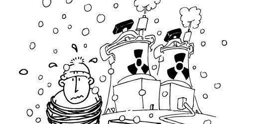 SCOOP - Le lobby nucléaire découvre qu'en Hiver... il fait froid !