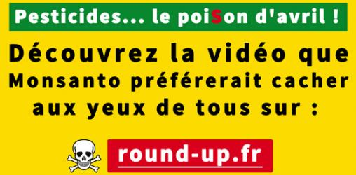 #roundup, le poiSon d'Avril