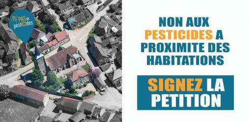 Pesticides à proximité des habitations