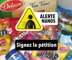 Alterte nanos, signez la pétition