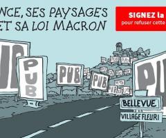 La France, ses paysages et sa loi Macron