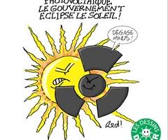 Photovoltaïque, le gouvernement éclipse le solaire.