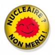 Badge : Nucléaire ? non merci !