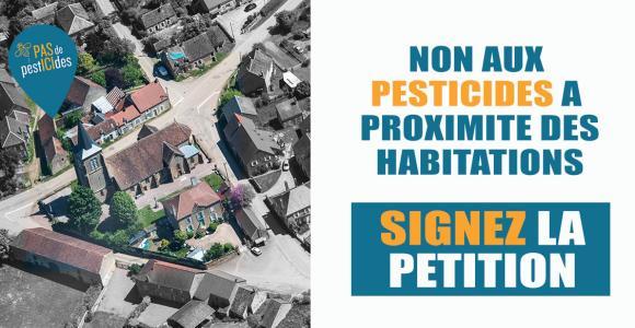 PÉTITION - Stop aux pesticides de synthèse à proximité des habitations ! #stopes
