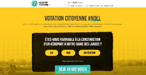 #votationcitoyenne #nddl