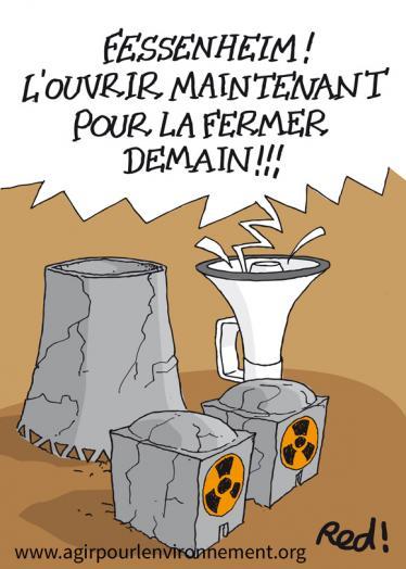 PETITION - Nucléaire à Fessenheim : l'ouvrir maintenant pour la fermer demain !