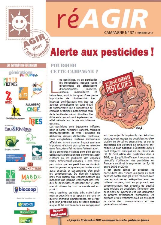 lots de campagnes alerte aux pesticides association agir pour l 39 environnement. Black Bedroom Furniture Sets. Home Design Ideas